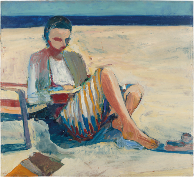 Richard Diebenkorn, 'Girl on the Beach', 1957, Anderson Collection at Stanford University