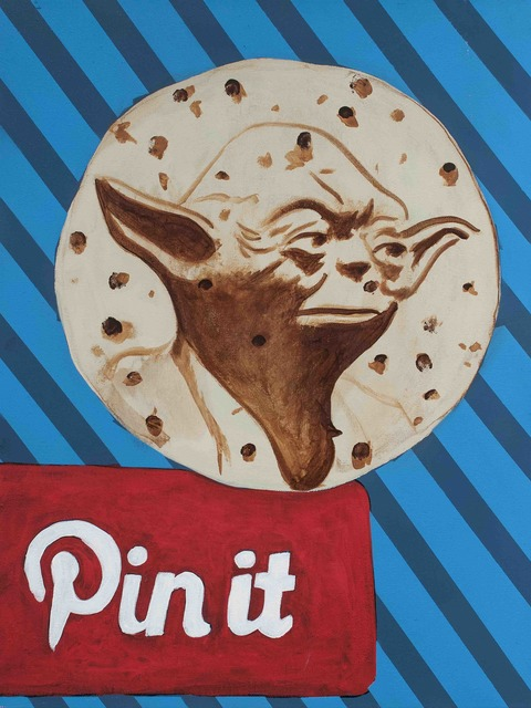 , 'When Yoda on a Tortilla Comes Along You Must Pin It ,' 2016, Tansey Contemporary