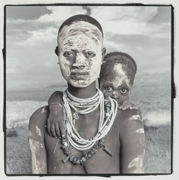 Kalime and Algo (Murile, Ethiopia), from the series 'Enduring Spirit,'