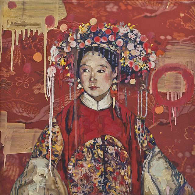 , 'Manchu Bride -Red Study II,' , Turner Carroll Gallery