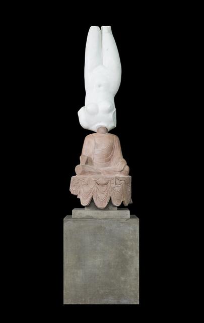 , 'Eternity-Aphrodite of Knidos, Tang Dynasty Sitting Buddha,' 2014, ShanghART