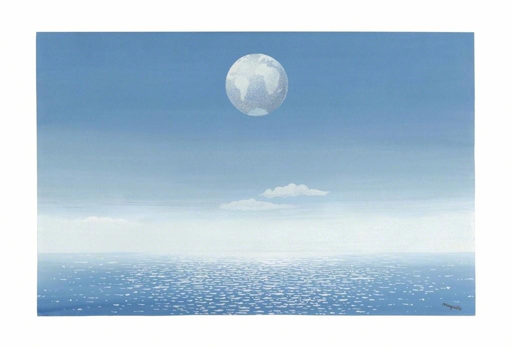 Ren magritte le miroir invisible ca 1942 artsy for Magritte le faux miroir