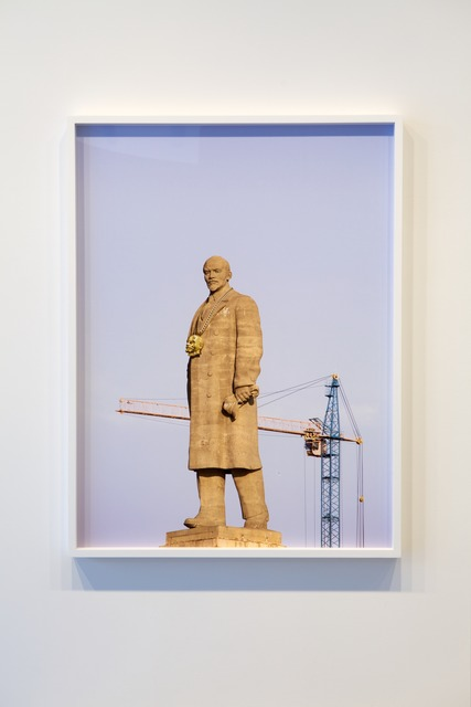 , 'Monumental Bling: Lenin East Berlin on Lenin Volgograd 5,' 2013, Jane Lombard Gallery