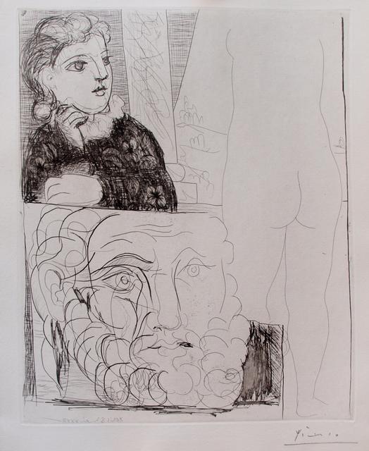, 'La bonne dans l'atelier de sculture,' 1933, Galerie Raphael
