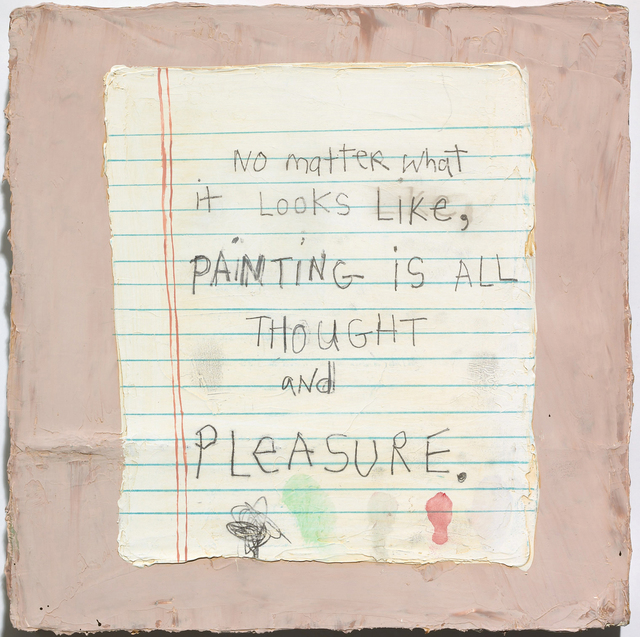 , 'Thought & Pleasure,' 2009, Jane Lombard Gallery