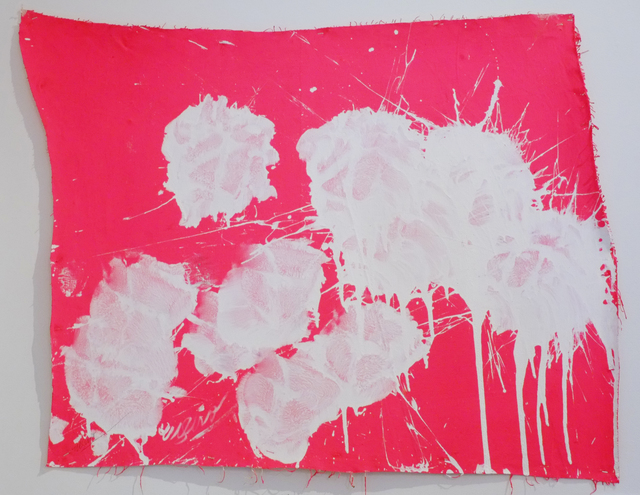 , 'White on Pink,' 2009, Deborah Colton Gallery