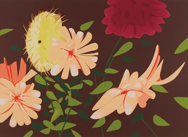 Alex Katz, 'Late Summer Flowers', 2013, Phillips