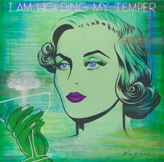, 'I am Holding My Temper,' 2014, Jonathan LeVine Projects