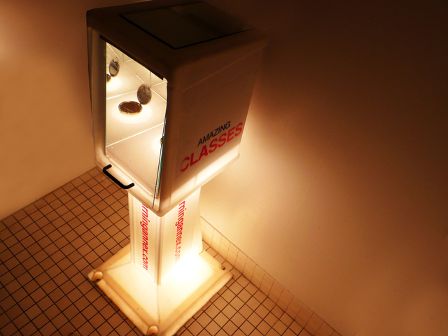 """, 'Beauty """"A tribute to the ladies bathroom"""",' 2009, Galleria Ca' d'Oro"""