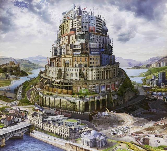 , 'Babel Britain (After Verhaecht) (edition of 20, 10 available),' 2017, Mall Galleries