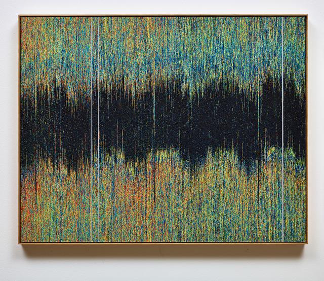 , 'SunDial:NightWatch_Drawing for Tapestry_ Sleep/Wake 2010-2014 ,' 2016, SCHEUBLEIN + BAK