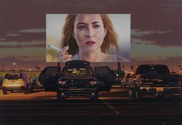 , 'A Big Splash in the Desert,' 2017, Galerie de Bellefeuille