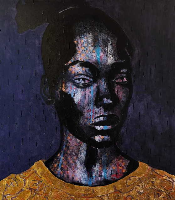 , 'Black on black,' 2012, Worldart