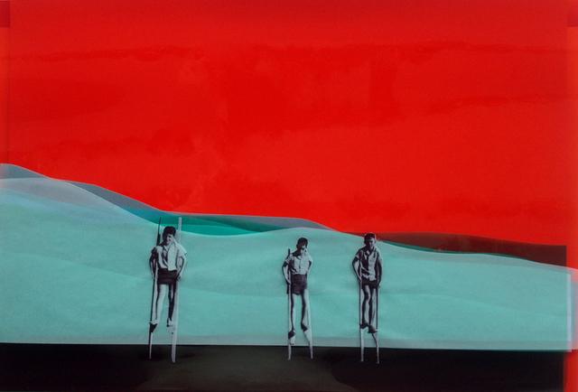 , 'Three Kids,' 2015, Chelouche Gallery