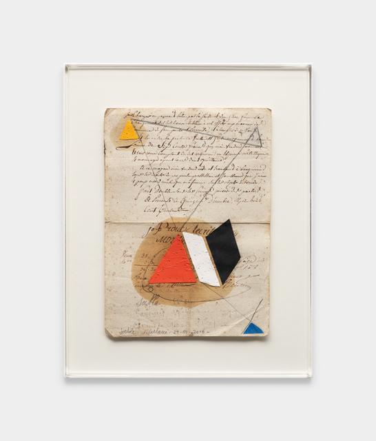 Julio Villani, 'sable', 2016, Galeria Raquel Arnaud