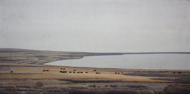 , 'Salt Flats no. 6,' 2017, Terzian Galleries