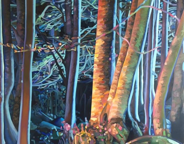 , 'Troncs nocturnes,' 2016, Galerie Alex Schlesinger