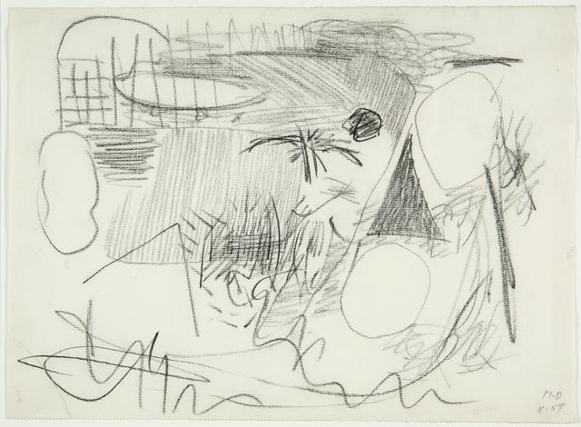 , 'Palme im Sturm,' 1959, Galerie Krinzinger