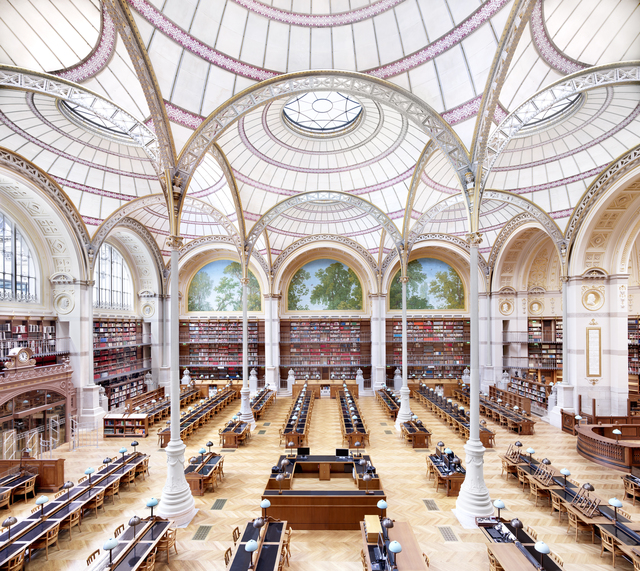 Candida Höfer, 'La Salle Labrouste - La Bibliothèque de l'INHA Paris I 2017', 2017, VNH Gallery