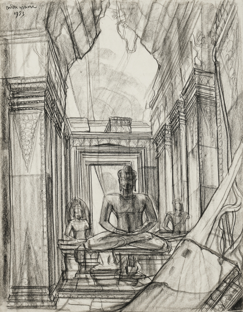 , 'Angkor,' 1953, Galerie Dumonteil