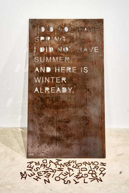 , 'Coma Manifesto 02,' 2017, Goodman Gallery