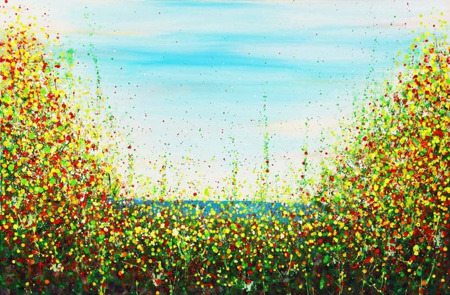 , 'Sunshine, Freedom, And A Little Flower,' 2016, Impact Art Gallery