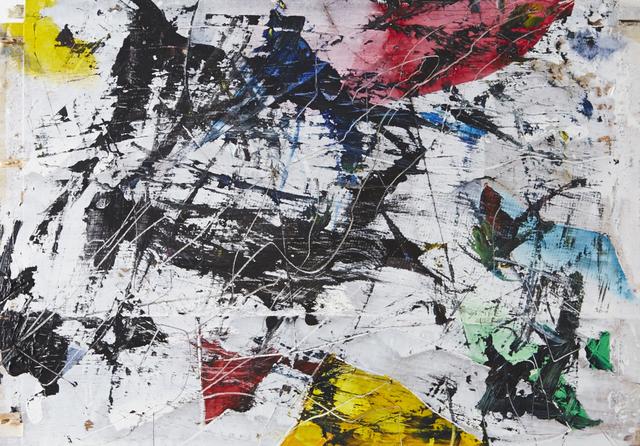 , 'R.G.B.Y. Panel # 4,' 2015, Matthew Rachman Gallery