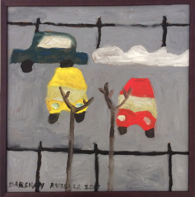 , 'Parked Cars,' 2017, Carrie Haddad Gallery