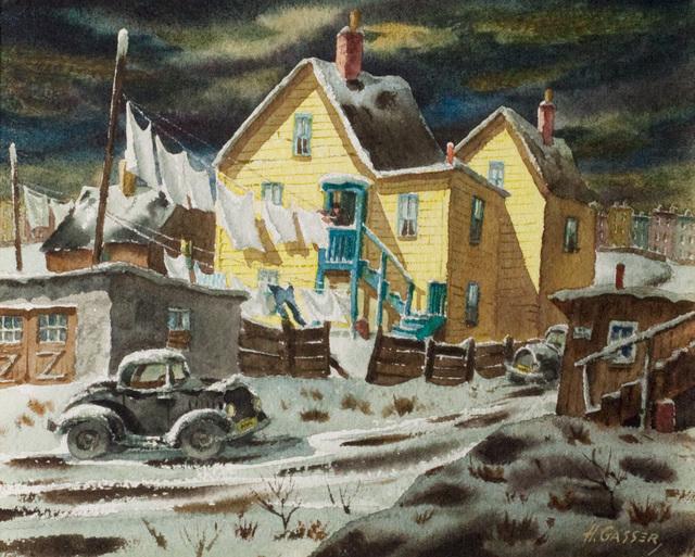 , 'December Wash,' , Questroyal Fine Art