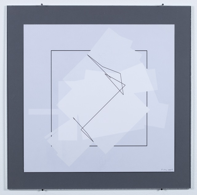 Manfred Mohr, 'P-1420-A', 2010, bitforms gallery