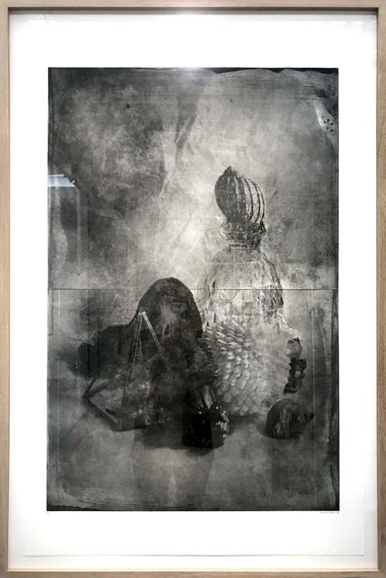 , 'Gravure noir #003,' 2020, Galerie Les filles du calvaire
