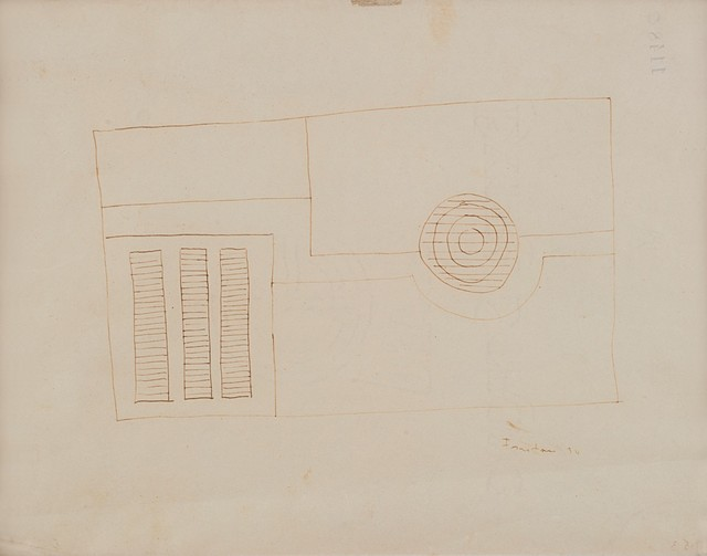 Lucio Fontana, 'Composizione astratta', 1934, Finarte