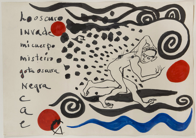 Alexander Calder, 'Los Oscuro Invade', 1974, HELENE BAILLY GALLERY