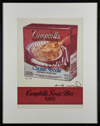 Campbell's Soup box