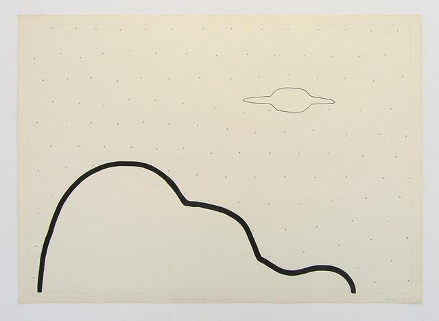 , 'Cloud and UFO,' 1989-2005, Galerija Gregor Podnar