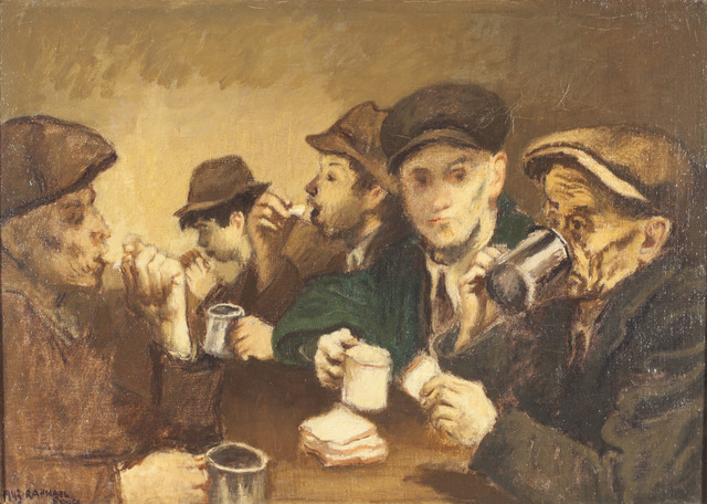 """Raphael Soyer, 'Study for """"How Long Since You Wrote to Mother"""",' 1943, ACA Galleries"""