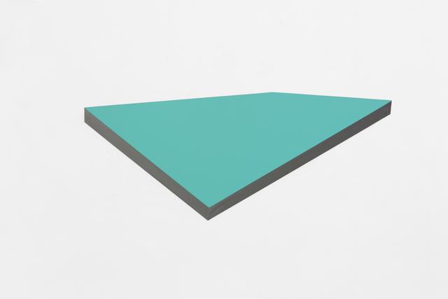 , 'O.T. phthalo green,' 2013, Galeria Raquel Arnaud