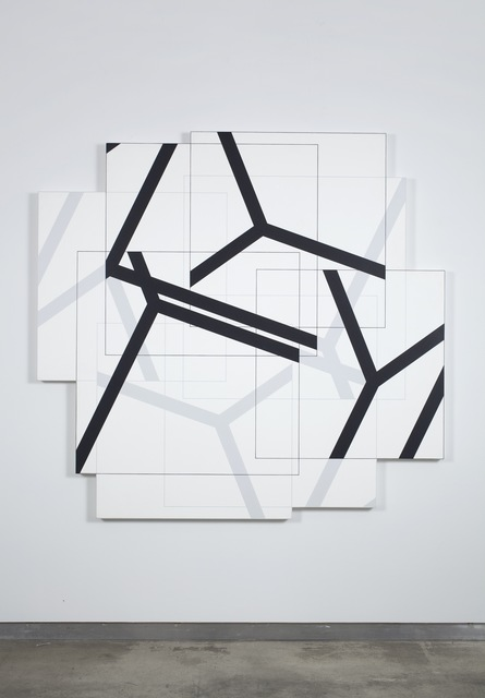 Manfred Mohr, 'P-411-F', 1988, bitforms gallery