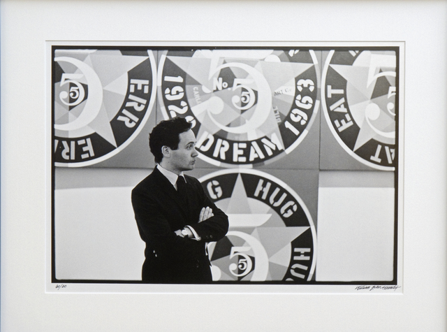 , 'Robert Indiana with The Demuth American Dream #5,' 1964, Long-Sharp Gallery