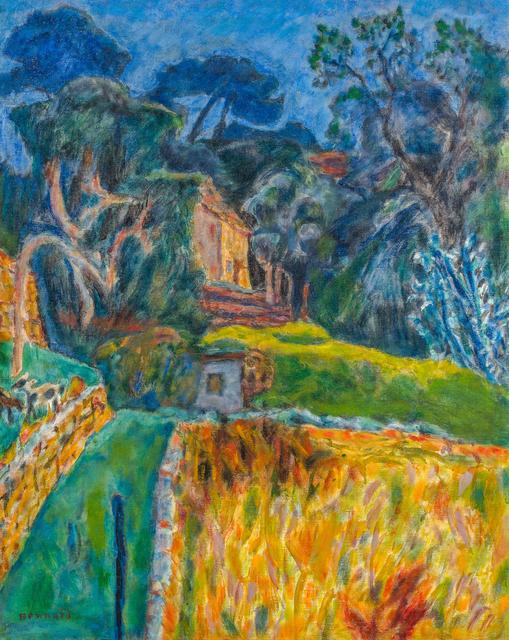 Pierre Bonnard, 'Paysage Méridional, l'enclos aux chèvres', 1944-1945, HELENE BAILLY GALLERY