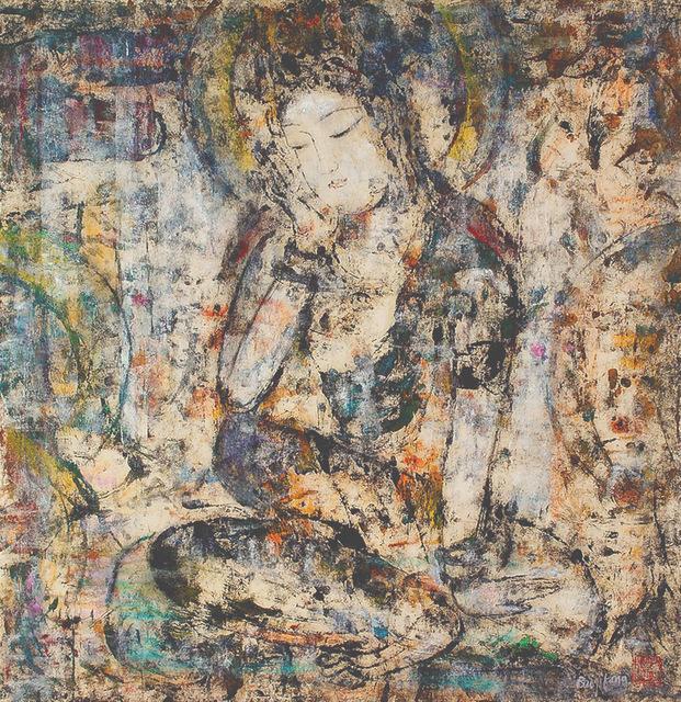 , 'Meditating Bodhisattva 1 思惟菩薩座像一,' 1996, Alisan Fine Arts