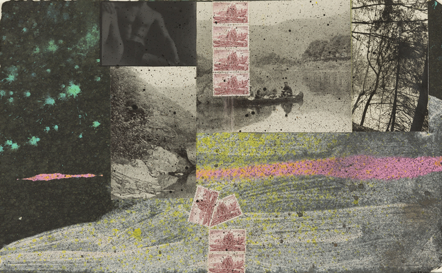 Don Joint, '[Small Collage]', N/A, Drawing, Collage or other Work on Paper, Mixed media collage, Childs Gallery