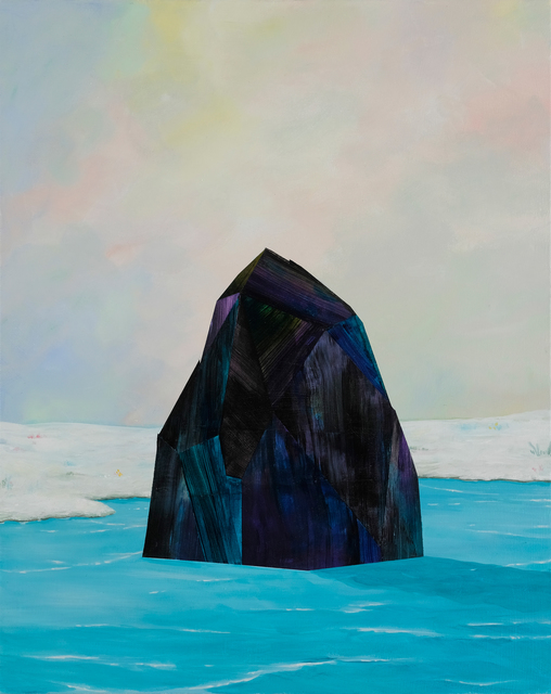 , 'Black Iceberg,' 2017, parts gallery