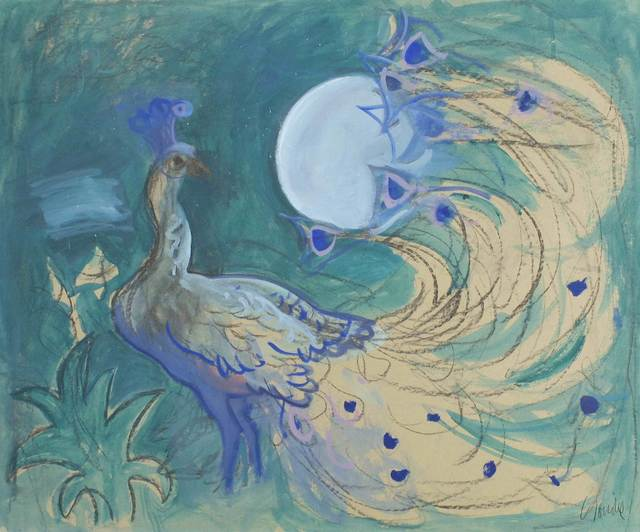 , 'Peacock,' c. 1990, Mall Galleries