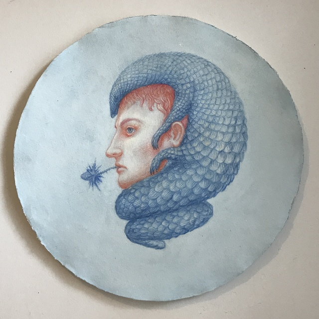 , 'Pangolin Bonaparte,' 2018, The Schoolhouse Gallery