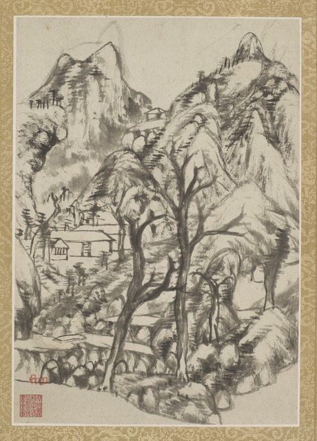 , 'Combined Album of Painting and Calligraphy,' Qing dynasty-ca. 1693 and 1696, Smithsonian Freer and Sackler Galleries