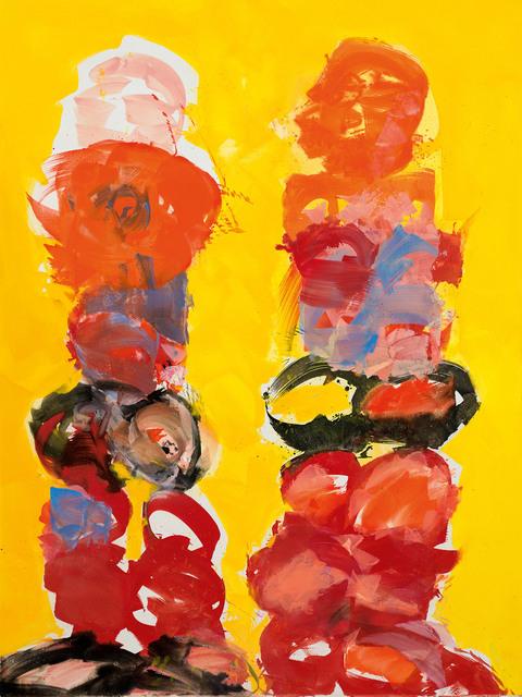 , 'Mohnfrau und Ringer,' 2006, Galerie Kovacek & Zetter