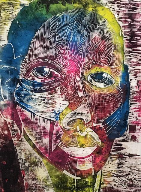, 'color man,' 2018, Horatio Carson