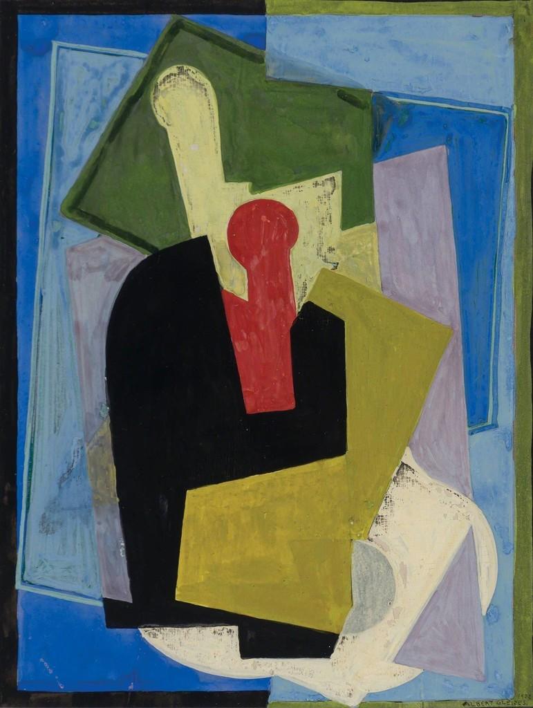 albert gleizes cubist composition 1922 artsy
