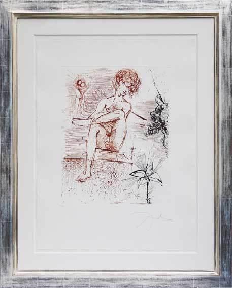 Salvador Dalí, 'Narziss', 1964, Galerie Kellermann
